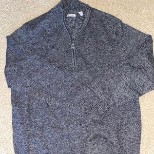 IZOD Quarter ZIP Sweater